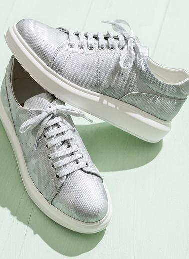 Elle Sneaker Ayakkabı Gümüş